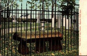 Connecticut Saybrook Point Lady Fenwick Tomb Stone 1909