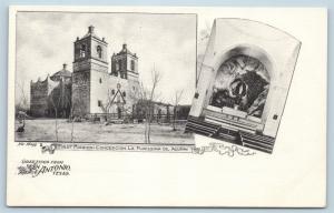 Postcard TX San Antonio Mission Concepcion La Purissima De Acuna Nic Tengg J22
