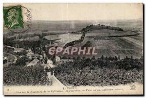 Old Postcard Langres View of Faubourg Colliniere the Forks View on the Collin...
