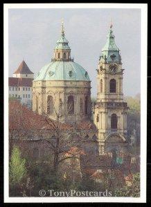 Praha - Kostes sv. Mikulase