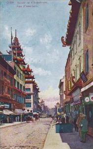 California San Francisco 3709 Scene In Chinatown