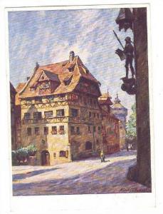 Albrecht Durer-Haus, NURNBERG, Bavaria, Germany, 30-40s