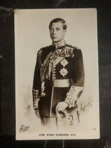 Mint England RPPC Postcard HM King Edward VIII