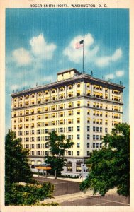 Washington D C Roger Smith Hotel 18th Street and Pennsylvania Avenue