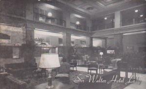 Sir Walter Hotel Lobby Raleigh North Carolina