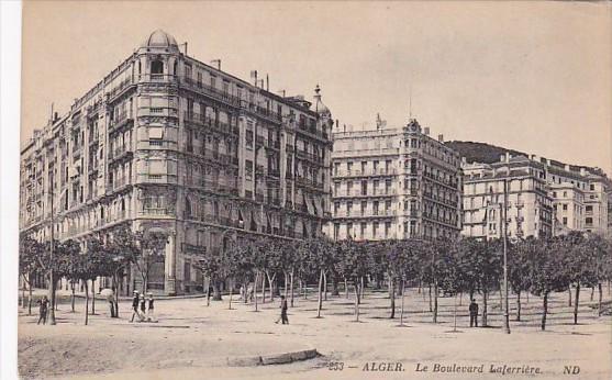Algeria Alger Le Boulevard Laferriere