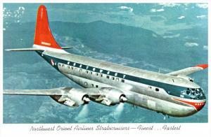 Northwest Orient Airlines Stratocruisers Double Decker