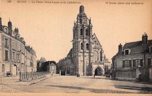 France Blois La Place Saint-Louis et la Cathedrale, Dom Cattedrale