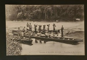 Mint Vintage Bluefields Nicaragua Traveling to the Goldmines Picture Postcard