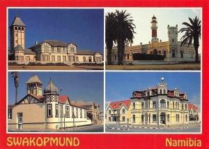 Namibia Swakopmund Buildings, Church Lighthouse Street