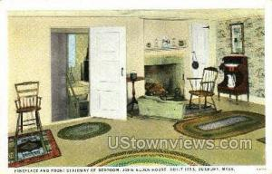 John Alden House Duxbury MA Unused