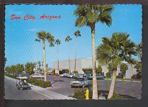 Town Hall South Auditorium Sun City AZ Postcard BIN