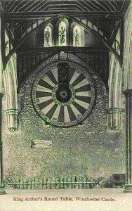 Winchester Castle King Arthur's Round Table Postcard