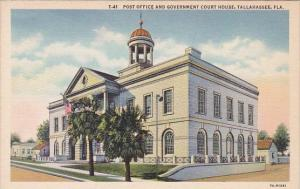Florida Tallahassee Post Office And Government Court House
