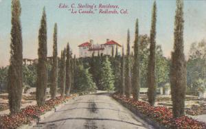REDLANDS, California; 00-10s; Edw. C. Sterling's Residence, La Casada