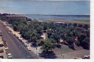 Confederate Park, Post office & Mississippi River, Memphis, Tennessee !