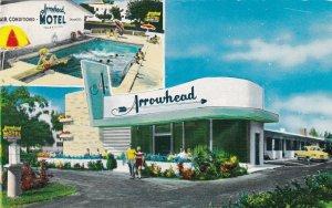 Florida Miami Arrowhead Motel 1958 sk5956