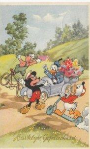 Disney ; Mickey Mouse as traffic policeman , 1956