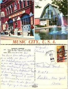 Music City, U.S.A., Nashville, Tennessee
