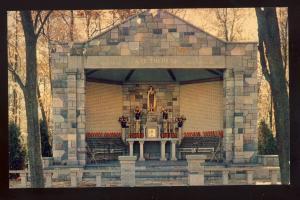 Nasonville, Burrillville, Rhode Island/RI Postcard, Shrine Of Little Flowers