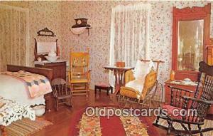 Denison, TX, USA Postcard Eisenhower Birthplace