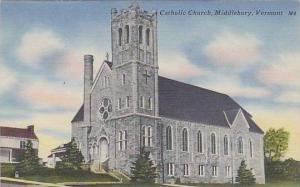 Vermont Middlebury Catholic Church