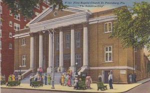First Baptist Church, St. Petersburg, Florida, PU-1952