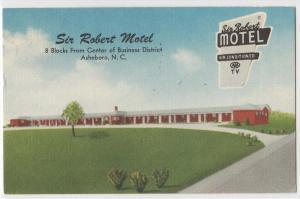 Sir Robert Motel, Asheboro NC