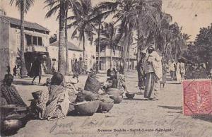Senegal Saint-Louis Avenue Dodds 1905