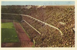 finland, HELSINKI HELSINGFORS, Stadion (1950s) Stadium Postcard