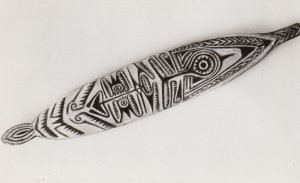 RP: Papua New Guinea , 50-60s ; Ancestral Board , Elema Tribes, Papuan Gulf