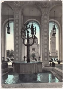 Tripoli, Libya, Arches and Cathedral, used Real Photo Postcard