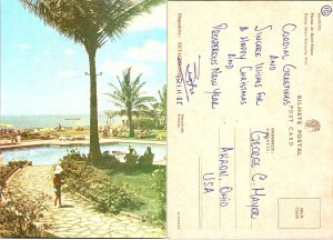 Mozambique - Africia - Maputo Piscina do Hotel Polana Hotel