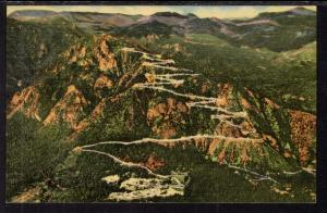 Nird's Eye View,Cheyenne Mountain,WY