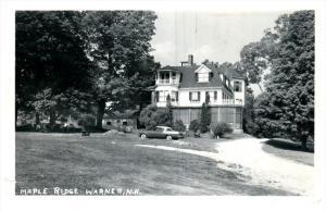 13802  NH Warner   Maple Ridge Hotel  RPC