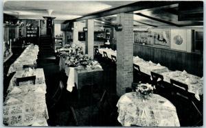 Chicago Postcard A BIT OF SWEDEN Smorgasbord Buffet Restaurant 1015 Rush St.