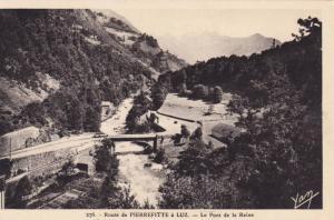 Route De Pierrefitte A Luz- Le Pont De La Reine, France, 1910-1920s