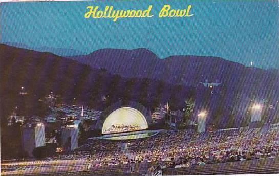 California Hollywood Hollywood Bowl 1966