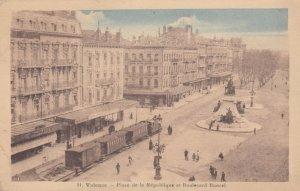 VALENCE , Drome , France , 00-10s ; Place de la Republique et Boulevard Bancel