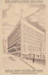 West Virginia Fairmont Hotel Fairmont Artvue