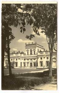 RP, Palac W Wilanowie- Elewacja Frontowa, Warszawa, Poland, 1920-1940s