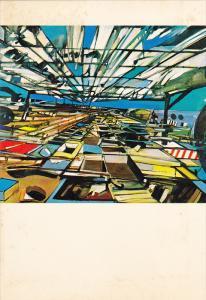 Martha Jackson Art Gallery , New York City , 70-80s ; Painting Great Glass R...