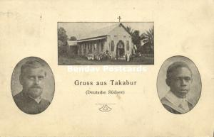 german new guinea, ENB, Kokopo, TAKABUR, Missionary Mission Church (1911)