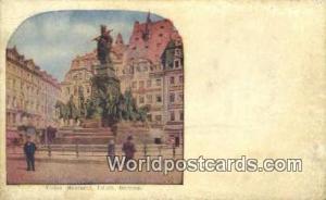 Leipsic Germany, Deutschland Postcard Victory Monument Leipsic Victory Monument