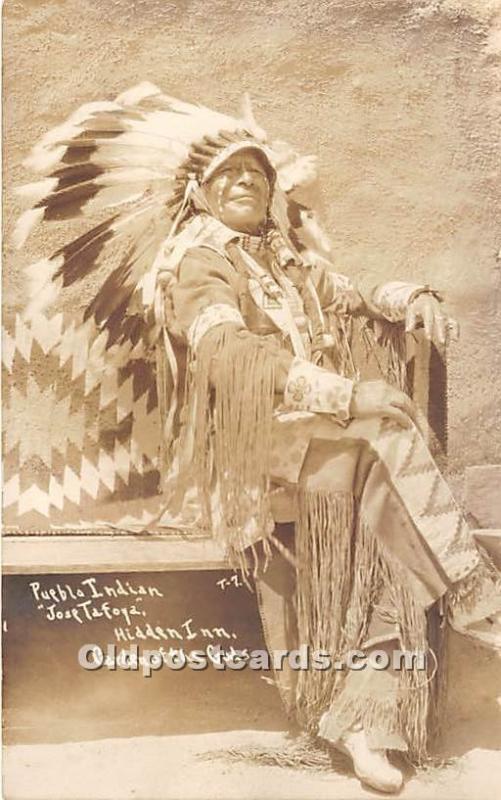 Pueblo Indian Jose Tafoya Hidden Inn, Garden of the Gods, Colorado, CO, USA U...