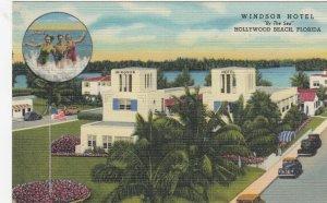 HOLLYWOOD BEACH , Florida, 1930-40s; Windsor Hotel