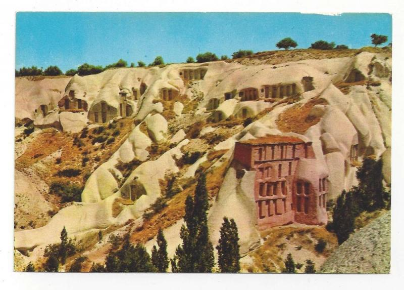 Turkey Uchisar Pigeon Houses Pigeon Valley Vintage Postcard