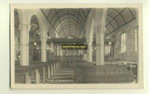 cu0913 - St Buryan Church , Cornwall - postcard plain back