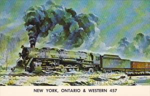 New York Ontario & Western 457 Locomotive