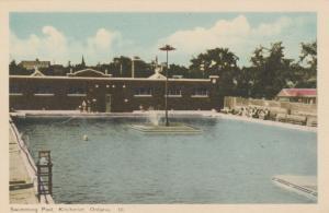 KITCHENER , Ontario, 1930s ; Swimming Pool